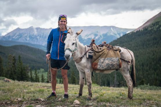 Burro Racing - Trail-Running-Wettkampf in Colorado